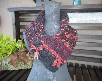 Hand Knit Cowl