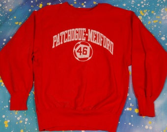 PATCHOGUE Medford 46 Reverse Weave CHAMPION Sweatshirt Size XL