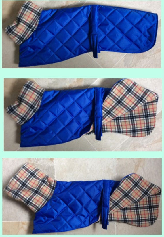 Readymade winter whippet coats