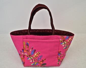 Take Me With You Large Pink Handbag