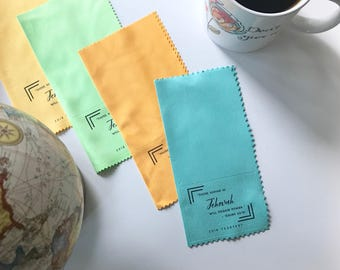25- 2018 Yeartext Microfiber cloths