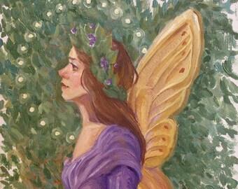 Fairy in Purple