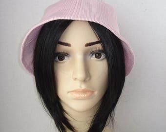 Vintage Vintage Pink Hat - Bucket Hat - Women's Fashion Accessories