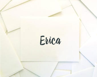 Reserved for Erica - Wedding Day Paper Goods