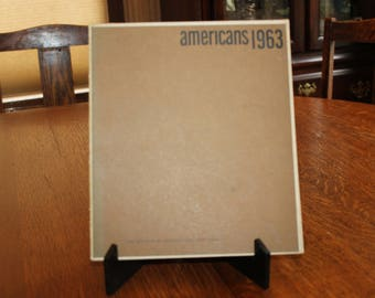 Americans, Art Exhibition, Art Catalog, 1963, Paperback, Museum of Modern Art, 1960s Art Show