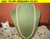 SALE Marvella Faux pearl necklace