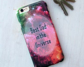 Personalised Father's Day Universe Phone Case
