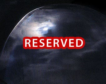 RESERVED for Cynthia: (1) Dome Paperweight