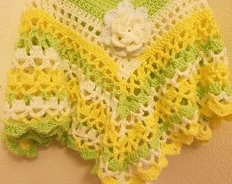 Handmade croche dress for girls 5T to 7T