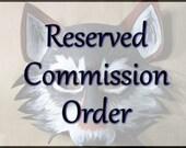 Custom Zodiac Wolf Mask