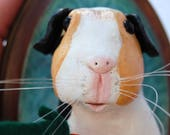 Custom sculpture - Guinea Pig - RESERVED for Jenny