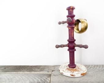 Jewelry Tree - Trendy Purple and Gray - Jewelry Organization - Mug Tree