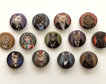 Doctor Mew Buttons