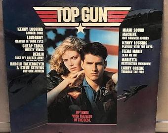 ON SALE Top Gun. Original Motion Picture Soumdtack. 80's Movies. Ferry. Devo. Eurithmics. Steward Copeland. Joe Cocker. Corey Hart.