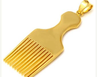 ON SALE HAIR Pick Pendant