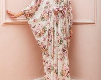SALE ON 20 % OFF Floral Maxi Dress, Long Maxi Dress, Bow Maxi Dress, Bow Dress, Floral  Dress, Summer Dress, Plus Size Dress, Plus Size Maxi