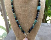 Hawaiian Sunrise Shell Beaded Necklace