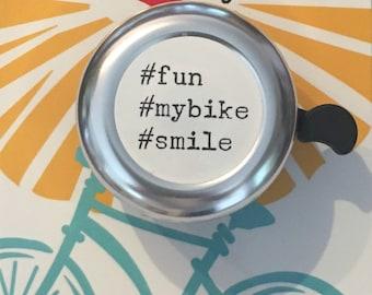 Hash Tag Bike Bell