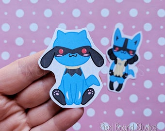 Riolu/Lucario Stickers and Magnets