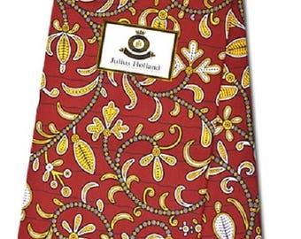 African Fabrics Julius Holland Wax Print Cotton Fabrics For Sewing Craft Making /Kitenge/Pagnes/Kikwembe Sold By Yard