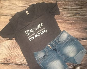 Despacito - Justin Beiber funny T-shirt.