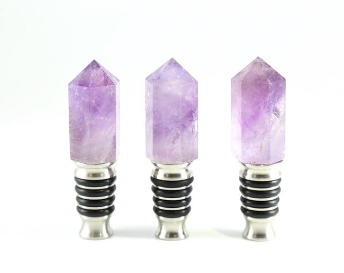 Amethyst Wine Stopper