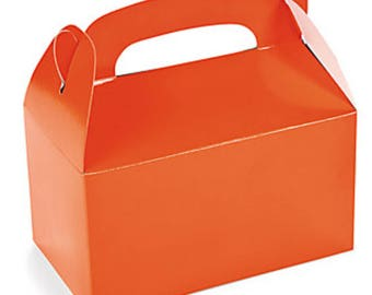 4 boxes United way silverwear orange