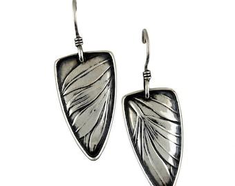 Floral Sterling Silver Tabra Earrings