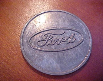 Large 1987 Ford Motor Company Large Coin Rawsonville Michigan Factory Open House Genuine Vintage Scarce Collectible EI-UAW Local 898