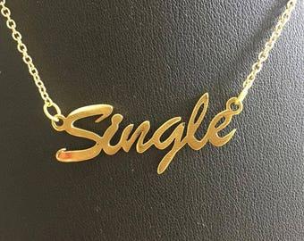 "16"" 'Single' necklace"