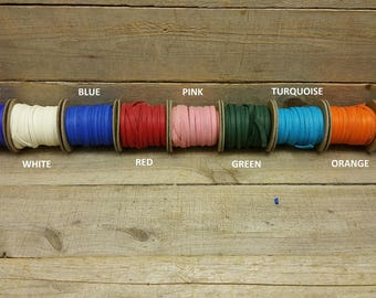 "Deerskin Deer Leather Lace Spool Roll 1/8"" x 50 FT Lacing Cord String Craft F-3"