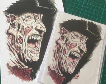 Freddy giclee print
