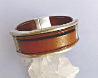 Mens bracelet, mens gift, leather bracelet, mens jewelry, men bracelet, gift for men, mens personalized, men leather bracelet, KLB1003