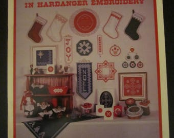 Christmas Elegance in Hardanger Embroidery