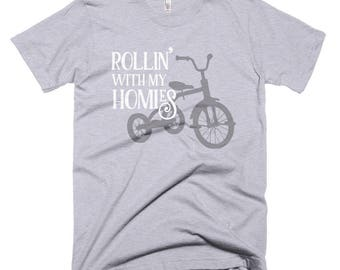 Rolling With My Homies Short-Sleeve T-Shirt