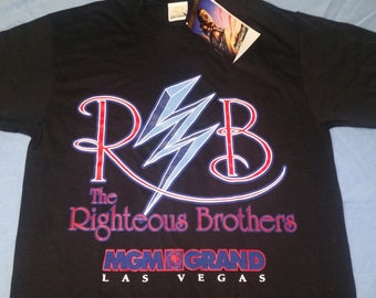 Vintage Righteous Brothers Las Vegas MGM Grand 1993 Small Made in USA NWT