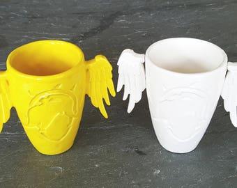 Mercy Overwatch Ceramic Mug / Cup ~ 12 oz ~ Handmade Made USA