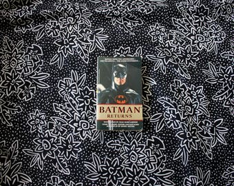 Batman Returns Novelization Book By Craig Gardner Tim Burton Michael Keaton Movie Paperback