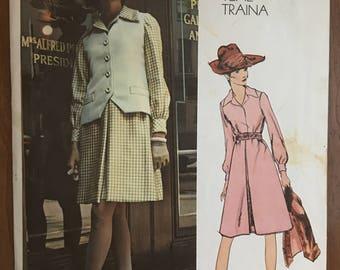 Vogue Americana Teal Traina Vintage Pattern #2459