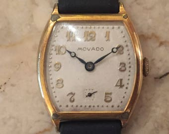 Movado Men's Watch Vintage!  Yes Movado!  Here is a Rare Find Indeed!