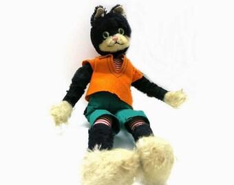 Schuco Bigo Bello Sailor Cat / Tall 45 cm- 17,7 Zoll / squeaking noises