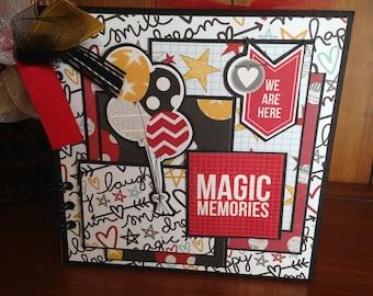 Magic Memories Chipboard Book - Completed Scrapbook Album