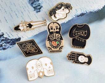 Third-Eye Halloween Pins (7 Pieces)