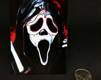 Ghostface from Scream Magnet
