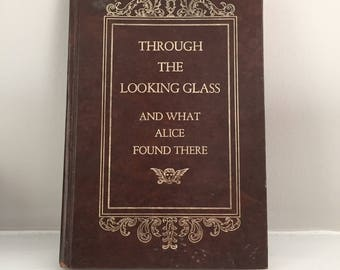 Vintage Alice Through the Looking Glass