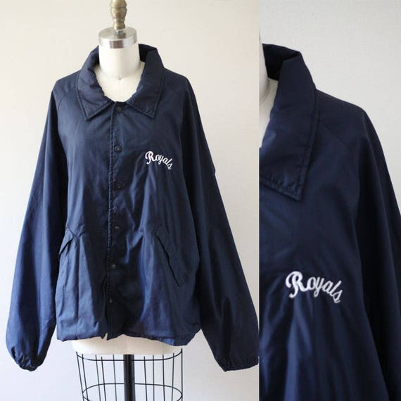 1970s Royals coach jacket  // varsity jacket // vintage coach jacket