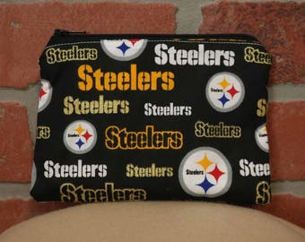 One Snack Sack, Steelers, Reusable Lunch Bags, Waste-Free Lunch, Machine Washable, Back to School, School Lunch, item #SS56