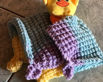 Toy wool and stuffed chick