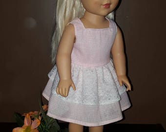 18 inch doll dress/ 18 inch doll clothes/ doll dress/ American girl doll/ doll clothes