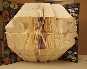 Folded Book Art -Star Wars
